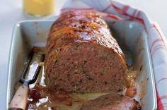 Babiččina sekaná | Apetitonline.cz Czech Recipes, Mince Meat, Ground Meat, Meatloaf, Food Photo, Dairy Free, Good Food, Pork, Food And Drink