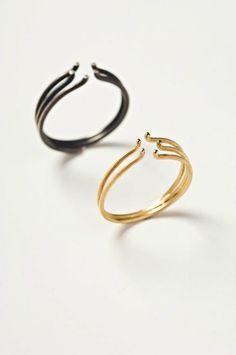 Error by Burcu Buyukunal stacking rings
