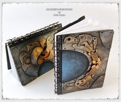 Steampunk sketchbooks by ~Diarment on deviantART