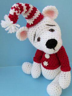 Ravelry: Cute Polar Bear Crochet Pattern pattern by Teri Crews