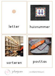 woordkaarten post