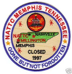 naval base memphis tennessee | Details about US NAVY BASE PATCH, NATTC MEMPHIS TENNESSEE, MILLINGTON ...