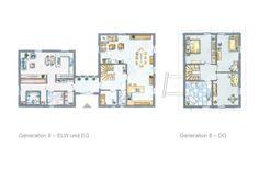 Grundriss Haus mit ELW