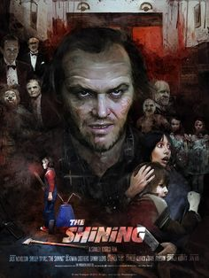 In The Shinning! with Jack Nicholson! by Vlad Rodriguez, via Behance