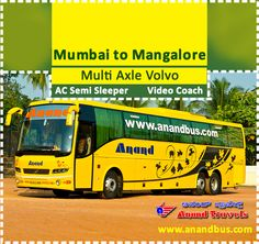 Beat the Summer Heat with Anand Travels Cool Volvo Multi Axle Coaches. Book online tickets from Mumbai to Mangalore (Via Pune, Kundapura, Udupi) and get flat 5% off on all bus tickets through our online portal http://www.anandbus.com/e-bookings/97/Mumbai/94/Mangalore ✔Multi Axle Volvo ✔ AC Semi Sleeper ✔Video Coach  #Mumbai #Pune #Mangalore #BusTicketsOnline #OnlineBusTickes