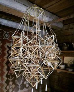 Tässä vielä perinteisempi himmeli Humppilan Kirkkotuvan himmelinäyttelystä. Näyttely on auki enää vain huomenna klo 11-13, käykäähän ihmettelemässä!    #himmeli #näyttely #Humppila #perinteet #jouluontulossa #jouluilo #Finland #traditions #exhibition