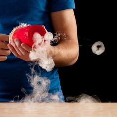 Dry Ice Smoke Rings - Kids' Science | Experiments | Steve Spangler Science