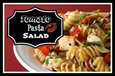 Tomato Pasta Salad,