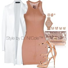 A fashion look from May 2017 by stylebydnicole featuring Calvin Klein Collection, DRKSHDW, Michael Kors, Maison Margiela and Halston Heritage Classic Outfits, Cute Outfits, Classic Clothes, Polyvore Outfits, Polyvore Fashion, Fashion Outfits, Womens Fashion, Woman Outfits, Jumpsuits For Women