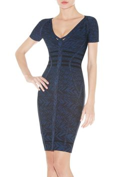 Herve Leger Fia Jacquard Bandage Dress Price: $1,319.00