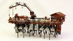 Lego Steampunk Strandbeest Model