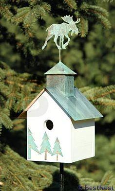 Heartwood Sleepy Hollow Bird House, Loose Moose at BestNest.com