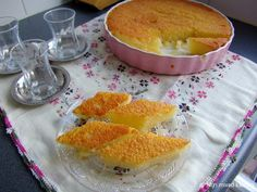 Mijn mixed kitchen: Revani (Turkse cake van griesmeel)