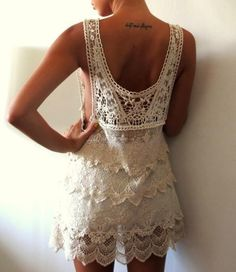 can never have too much cream lace.. so pretty