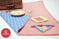 Manta para Picnic, por Romina Lamarque. http://www.utilisima.com/manualidades/8896-manta-para-picnic.html