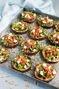 A beautiful earthy salad made up of juicy charred aubergine, tomatoes and goats cheese. An easy and unique take on how to serve salad. Braai Recipes, Appetizer Recipes, Salad Recipes, Vegetarian Recipes, Cooking Recipes, Healthy Recipes, Healthy Foods, Appetizers, Braai Salads