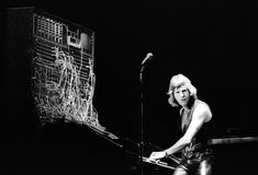 Keith Emerson performs with Emerson Lake and Palmer at Oakland Coliseum Arena on August 6 1977 in Oakland California. (Keith Emerson passed today at 71 years. RIP Keith.) [3600 2452]