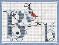 abecedario frozen punto cruz - Buscar con Google