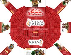 Cestas Vigo - Packaging/Catalog with special folding