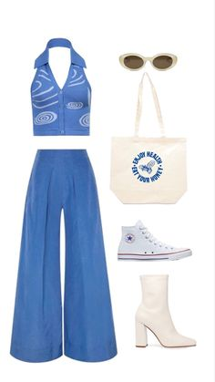 Swaggy Outfits, Cute Casual Outfits, Stylish Outfits, Teen Fashion Outfits, Retro Outfits, 70s Inspired Fashion, Vetement Fashion, Mode Vintage, Mode Style