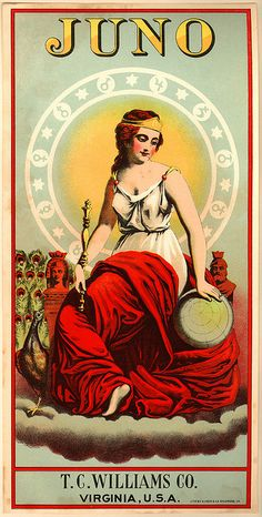 Juno, Roman goddess of marriage and wife of Jupiter
