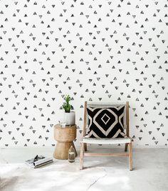 Boho style wallpaper Removable wallpaper Boho wall sticker