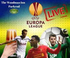 Europa League tonight live at the Woody!! Midtjylland v Manchester United Kick Off: 6pm Fiorentina v Tottenham Kick Off: 6pm Augsburg v Liverpool Kick Off: 8:05pm Come along for refreshing drinks or our Curry Night! ‪#‎thewoodmaninn‬ ‪#‎forestofdean‬ ‪#‎currynight‬ ‪#‎football‬ www.thewoodmanparkend.co.uk