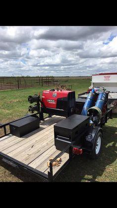 Lincoln welding trailer