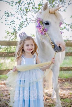 Must get a photo with a unicorn! Well Dressed Wolf- BLUE DUCHESS