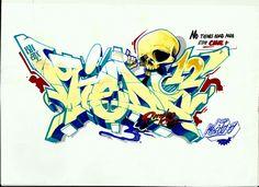 graffiti pen drawings - Google Search