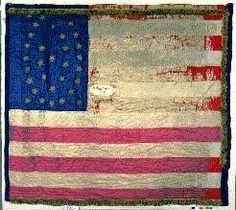 Flag of the 28th US Colored Infantry. This is the only Black regiment organized in the state of Indiana. Image source: http://www.in.gov/iwm/2397.htm