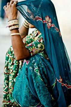 A rural woman has more style than any Bollywood star. India