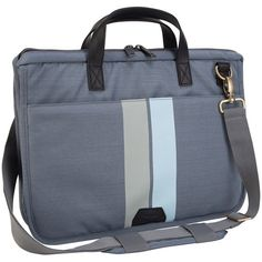 "Targus 15.6"" Geo Messenger Bag for Laptops in Grey/Black $60.99 at LOOKUP.shop"