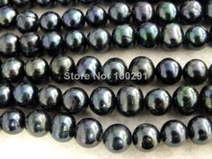 Free Shipping !! W-897 Promotion Stock Items, Round 7-8mm Loose Freshwater pearl beads For Leather Jewelry $130.44