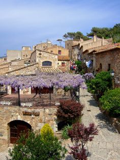 Tossa de Mar Old Town, Girona, Catalonia Up the coast from Bacelona you'll find this sleepy little town with a small ruin castle overlooking the sea. www.pinkcarryon.com