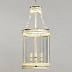Round Fretwork Lantern