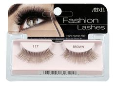 Ardell Fashion Lashes Pair - 117 (Pack of 4). 100% Human Hair. Easy to apply. Comfortable to wear. Stay secure until you take them off. May be re-used up to three weeks.