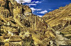 Phugtal Gompa Monastery Zanskar, India