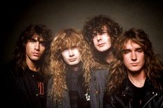 Megadeth - Jeff Young, Dave Mustaine, Chuck Behler, Dave Ellefson