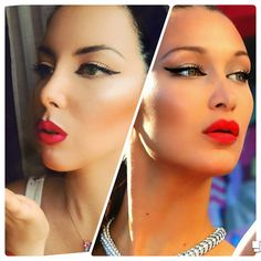 Bella hadid cannes inspired makeup 2017