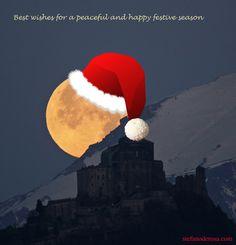 December 25, 2011  Stefano de Rosa Before Christmas, Christmas Holidays, Xmas, Fb Like, Black Friday Ads, Winter Wonderland Christmas, Sun Moon Stars, Good Night Moon, December 25