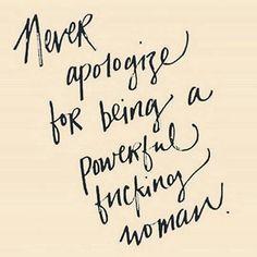 Just a reminder, ladies.