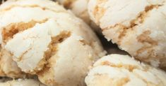 Vanilla cinnamon buckwheat biscuits with buckwheat - HQ Recipes Crinkle Cookies, Candy Cookies, Cookie Desserts, Cookie Bars, Cookie Recipes, Dessert Recipes, Bar Cookies, Vanilla Recipes, Peanut Butter Recipes