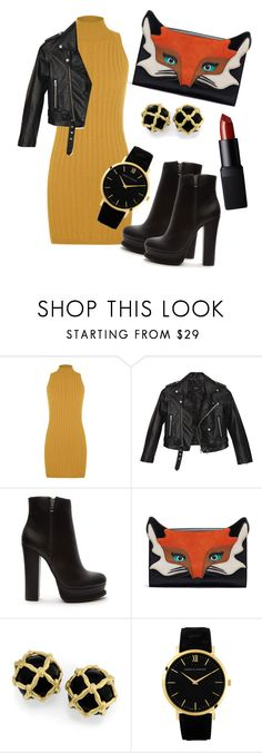 """""""Fall 4"""" by georgeismail ❤ liked on Polyvore featuring WearAll, Nasty Gal, Forever 21, Larsson & Jennings and NARS Cosmetics"""
