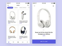 Simple shop app