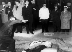 The Italian-American Drug Trafficker Lucky Luciano, Who Was Linked To The Mafia Suddenly Died From A Heart Attack At The Bar Of Naples' Capodichino Airport On January 26, 1962. He Was Living In Italy Under Police Surveillance After Having Been Expelled From New York At The End Of World War Ii.