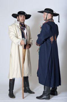 Domažlický kroj mužský, Traditional folk costumes - South Bohemia, Czech Republic.