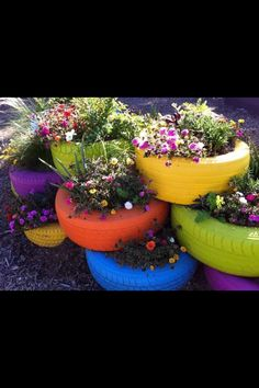 Great idea for a school garden!