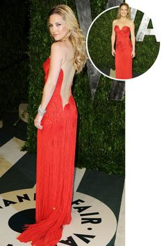 The best red carpet dresses from the back: Kate Hudson in Versace at the 2012 Academy Awards.