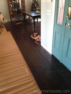 sound deadening underlayment DIY Hardwood Floor Installation